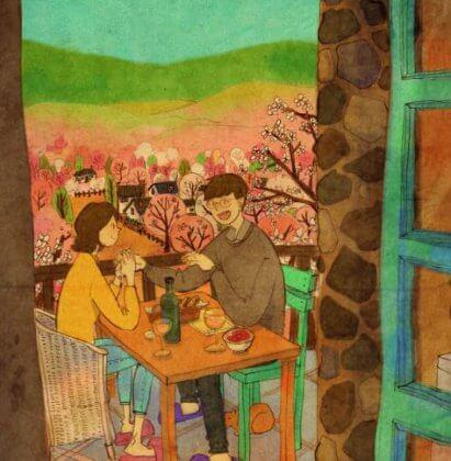 Romanttinen illallinen
