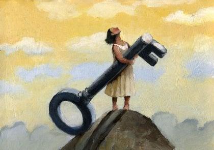 Nainen ja suuri avain