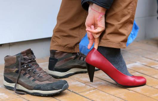 Väärät kengät