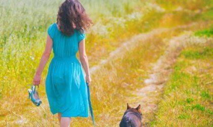 Nainen ja koira