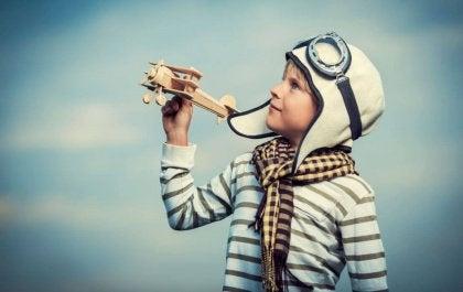 Poika ja lentokone