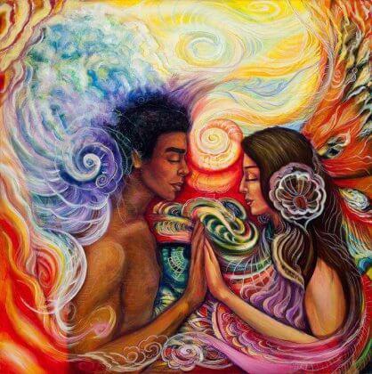Seksuaalisuudesta nauttiminen kahden ihmisen välillä