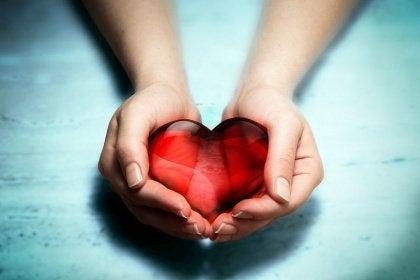 Sydän naisen käsissä