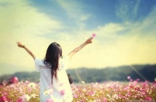 Tyttö ja elämän arvostaminen
