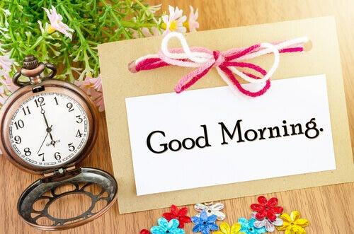 5 syytä herätä aamukuudelta