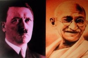 Hitler ja Gandhi