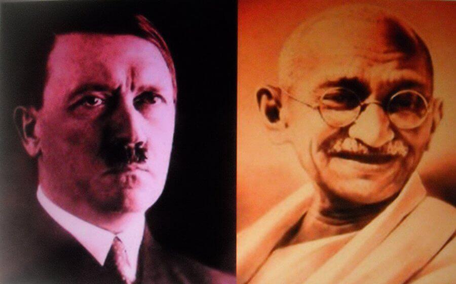 Kirje Gandhilta Hitlerille