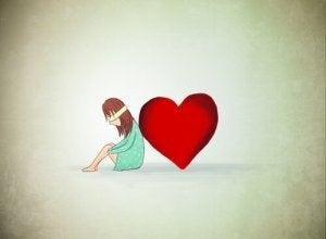 Tyttö yrittää ymmärtää tunteita