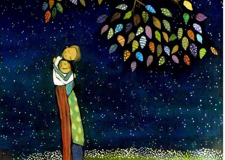 Pari antaa anteeksi ja halaa