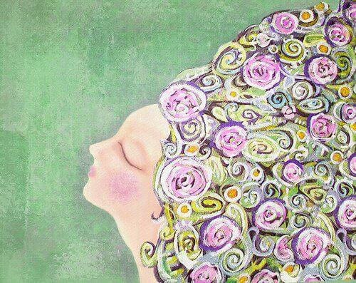 Älykkyystyypit kukkahiukset