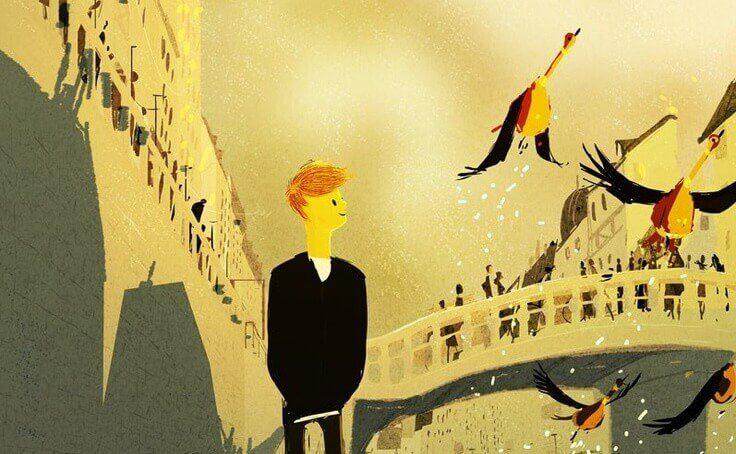 Poika ja linnut