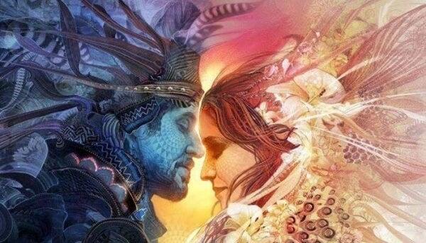 Nainen ja mies sattuma
