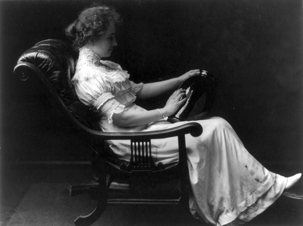 Menestyneet naiset Helen Keller