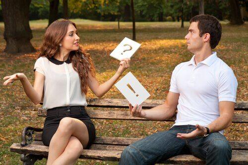 Kommunikointi naisen ja miehen välillä