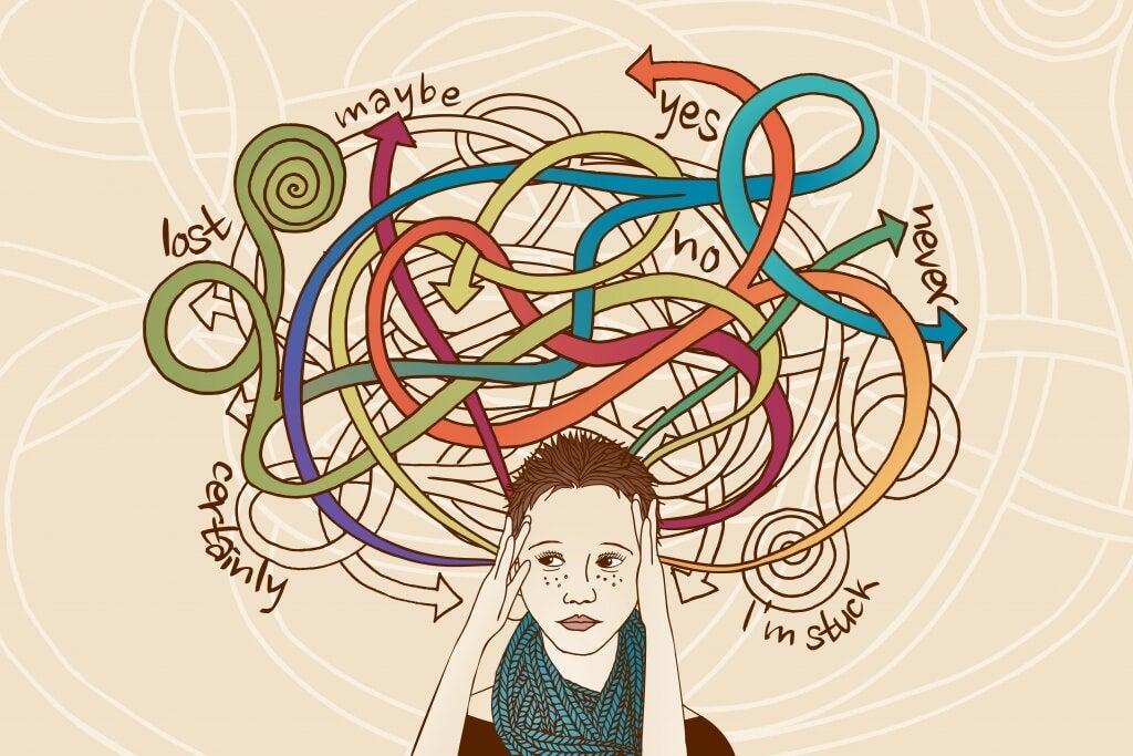Tyttö ja tunteiden hallinta