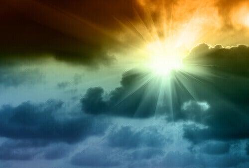 Aurinko paistaa aina myrskyn jälkeen