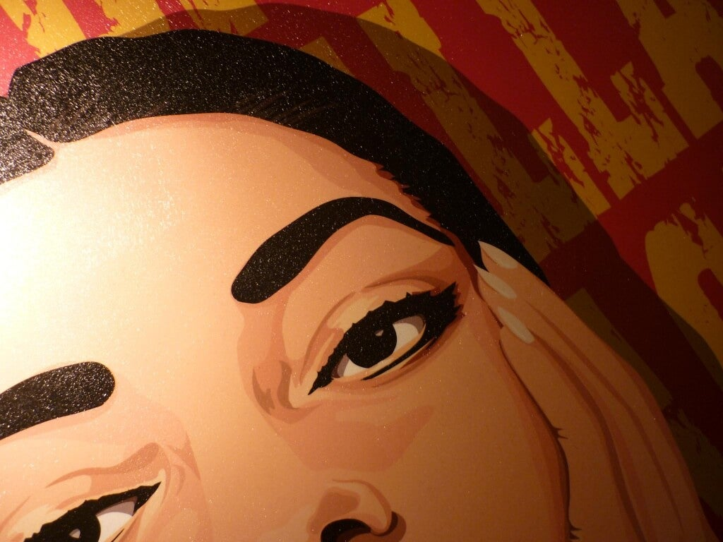 Naistaiteilija Maria Callas