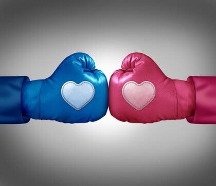 Nyrkkeilyhanskat sydämillä