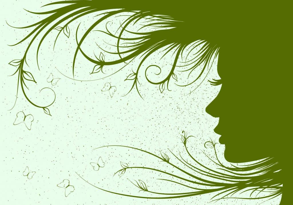Nainen ja haaveilu