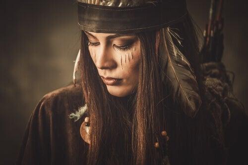 Femme fatale intiaani