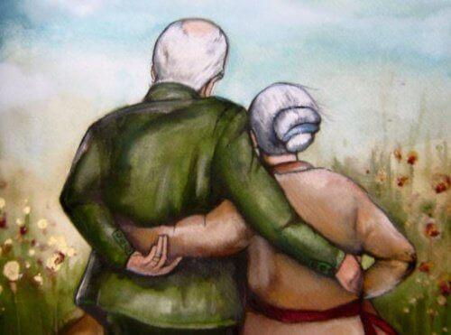 Lapsenlapsistaan välittävät isovanhemmat jättävät jälkensä heidän sieluihinsa