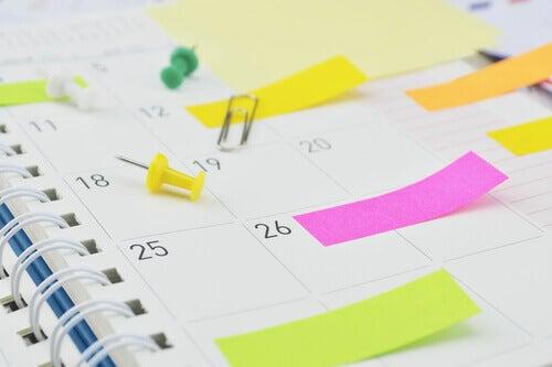 Multitasking kalenteri