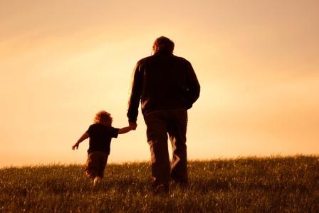 Lapsi ja isoisä
