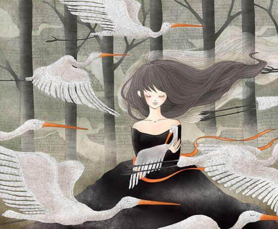Naisen elämä ja linnut