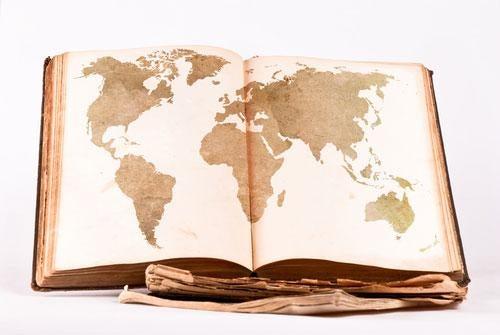 Matkustaminen ja kartta