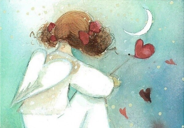 Tyttö, sydän ja siivet