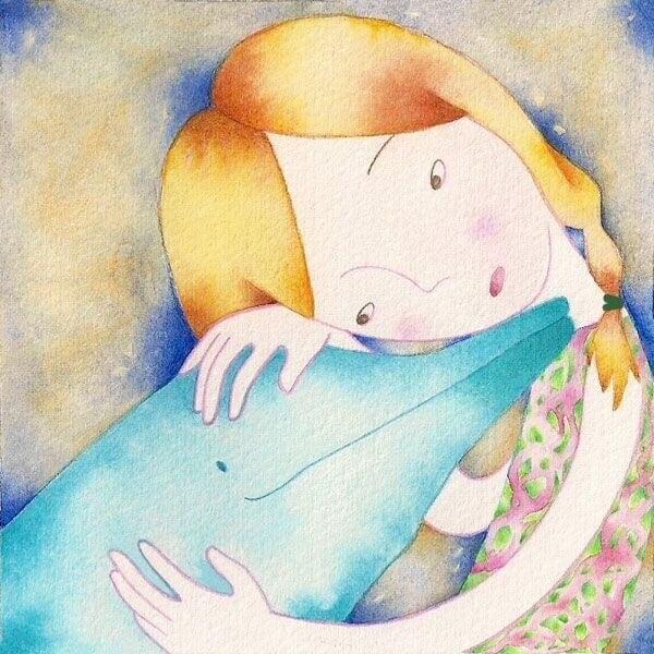 Delfiini ja tyttö
