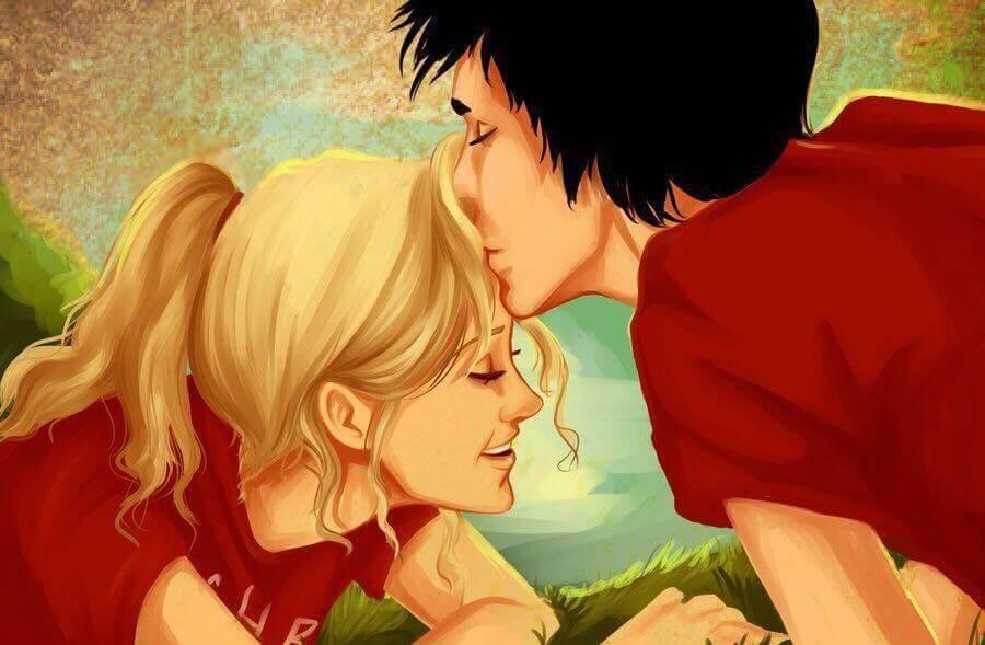 Suudelma otsalle