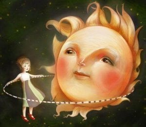aurinko ja hulavanne