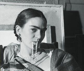 Frida Kahlo ja helminauha
