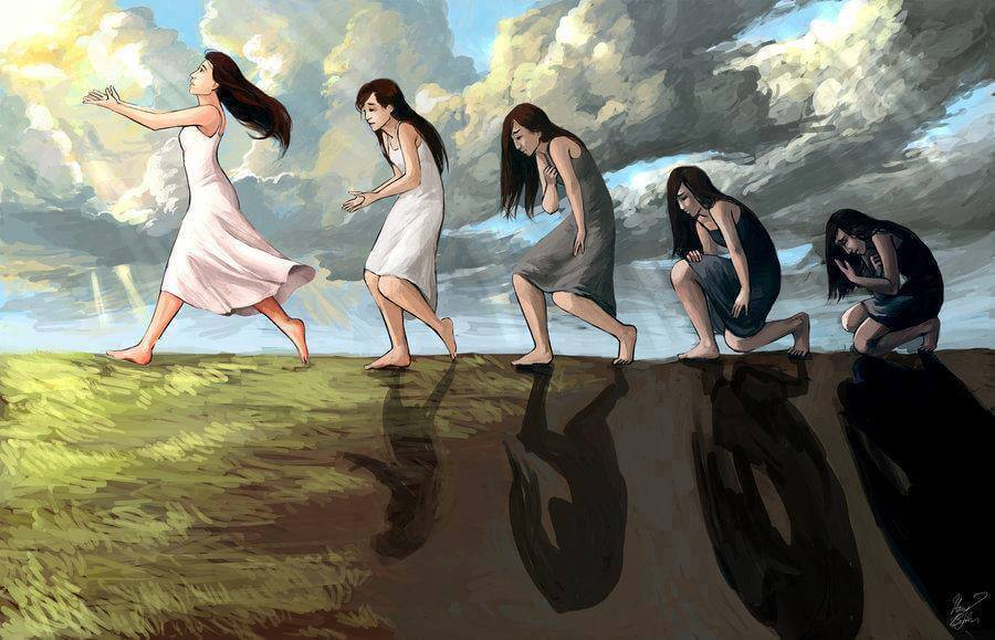 nainen evoluutio