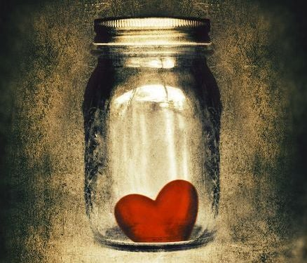 sydän purkissa