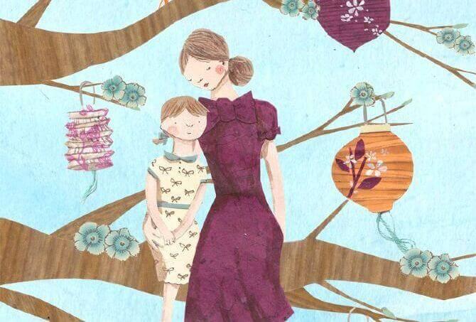 Hanhiemo ja tytär