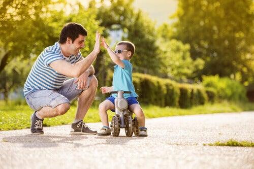Isä ja poika ylävitonen