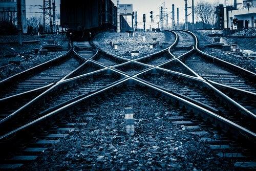 Intuitiiviset päätökset junaraide