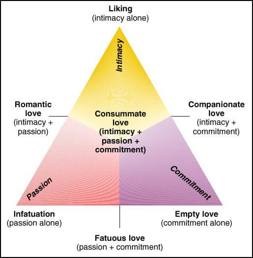 rakkauden kolmikantainen teoria