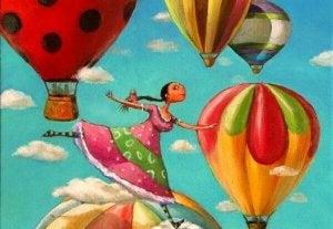 Unelmasi taivalla lentäen