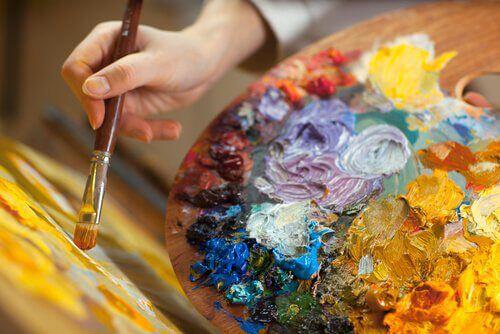 Luovaa terapiaa: maalaminen