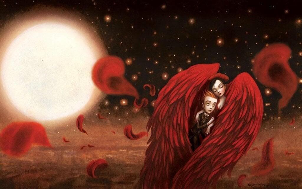Rakastaminen punaiset siivet