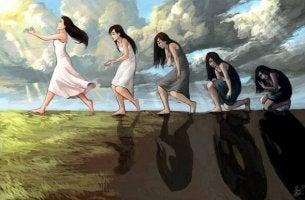 Naiset evoluutio