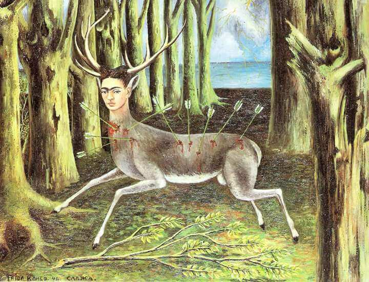 Frida Kahlo taideteos