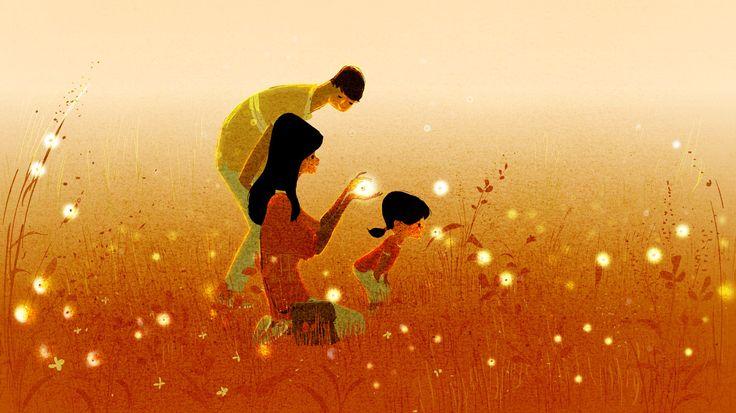 Perhe tutkimusmatkalla