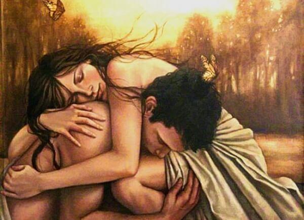Rakkauteni sinua kohtaan on enemmän kuin riippuvuutta tai yksinolon pelkoa