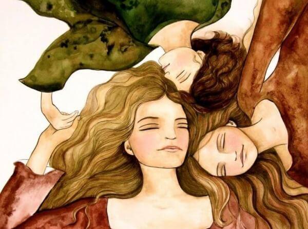 kolme naista