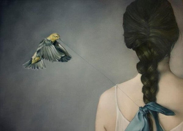 lintu kiskoo narua