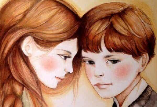 Sisarukset ovat ystäviä, joita meidän ei tarvinnut etsiä